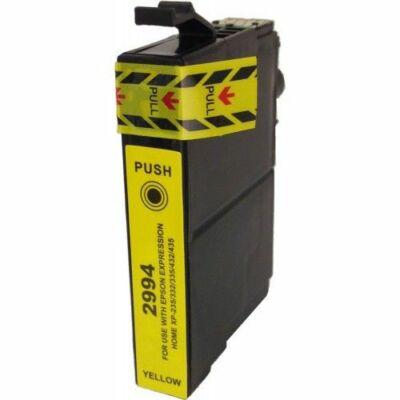 Epson utángyártott tintapatron - T2994 29XL Sárga