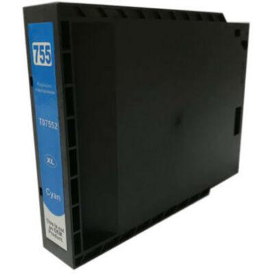 Epson utángyártott tintapatron - T7552 KÉK