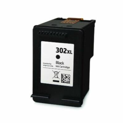 HP 302XL BK OBH302XL tintapatron FEKETE
