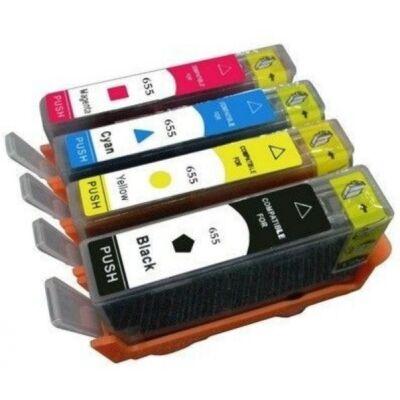 HP 655 CZ112 Sárga tintapatron