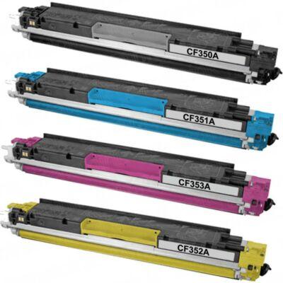 HP CF352A Sárga toner utángyártott 1000 oldal