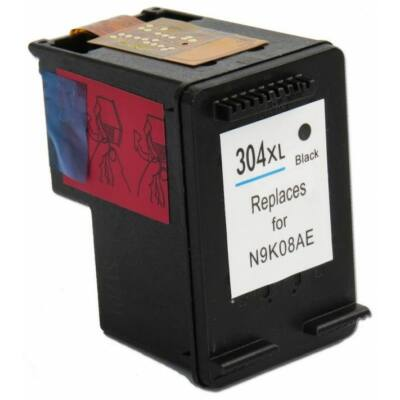 HP 304xl fekete utángyártott tintapatron