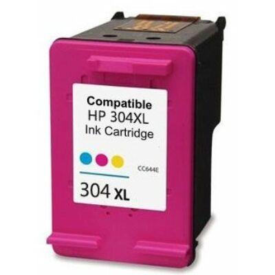 HP 304xl színes utángyártott tintapatron